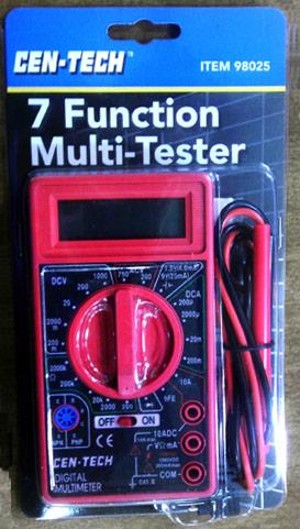 Volt Meter for Testing