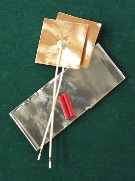 Moda Sensor Repair Kit (see above) with Aluminum Foil - click for larger image
