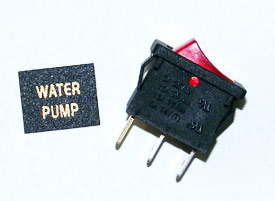 Water Pump Switch Kit - click for larger image